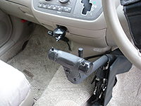 自家用車のコントローラー