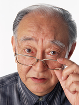 高齢の男性