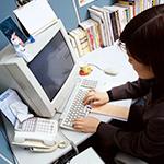 パソコンのタイピング、就労