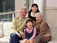 三世代、家族
