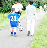 サッカーの帰り道