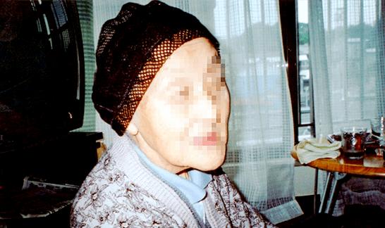 おばあちゃんの横顔